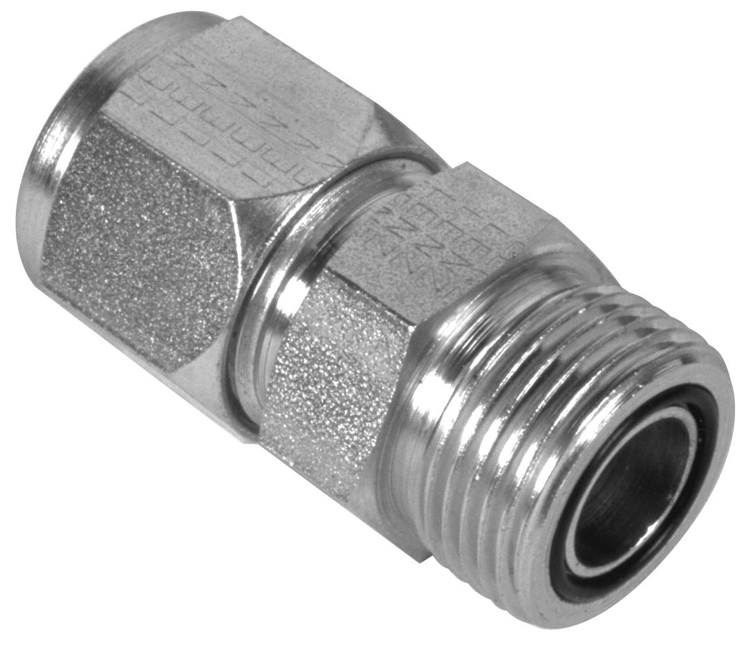 Steel Hydraulic Fittings : Hydraulic tube nipples o r s adapters lenz