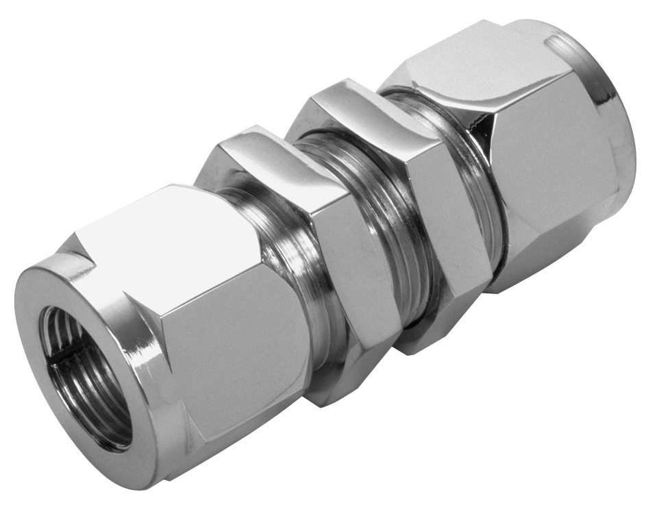 Bulkhead union connector lenz
