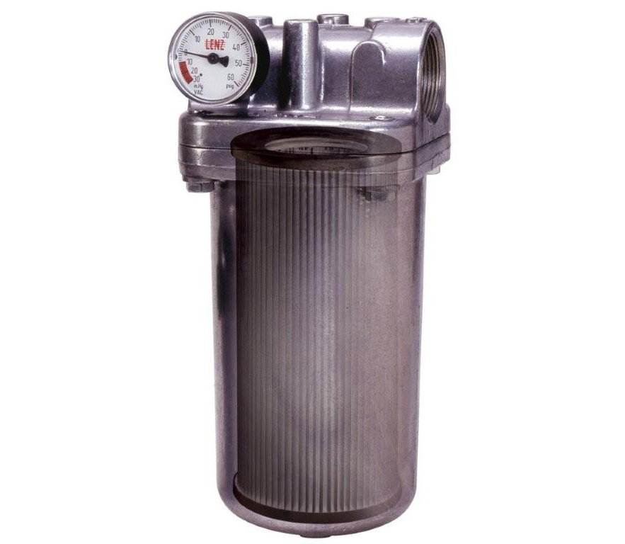 Dh Amp Cf Series Hydraulic Inline Cartridge Filter Lenz