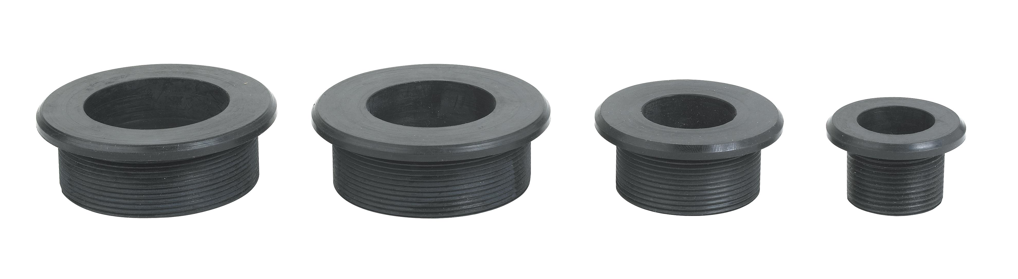 Lrb rubber bushings for tube pipe lenz