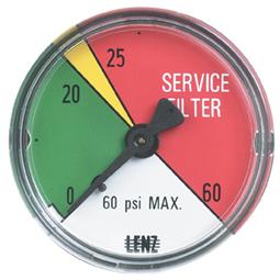 Hydraulic Filter Clogging Indicators Lenz