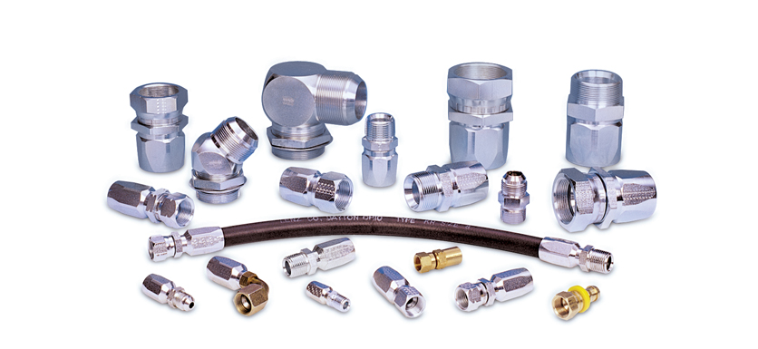 Reusable hose fittings brass adapters lenz